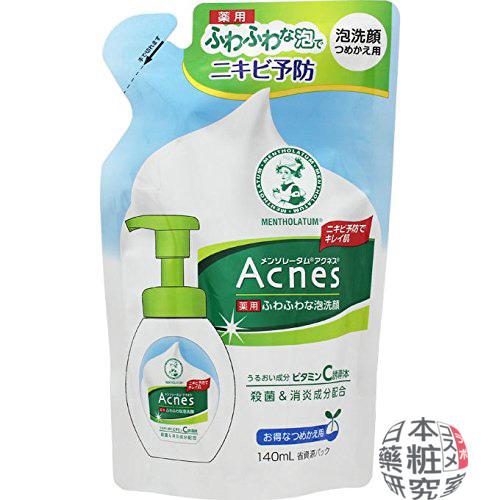 12アクネす 薬用ふわふわな泡洗顔 詰め替え